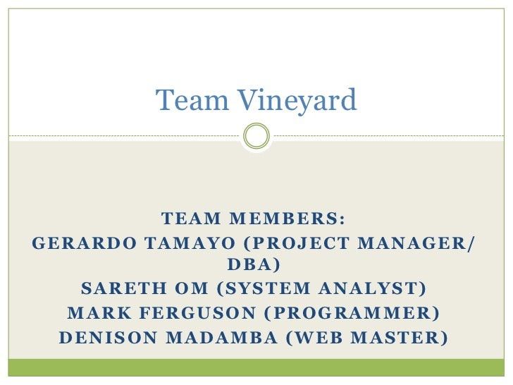 Team vineyard2