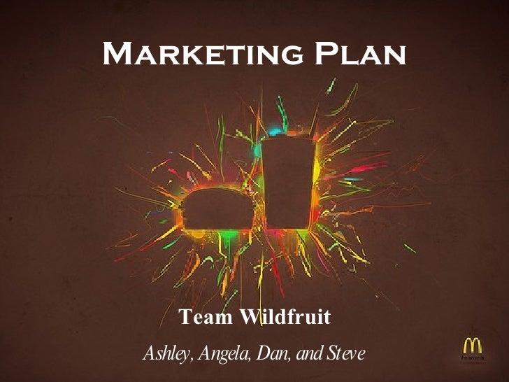 Team Wildfruit Presentation Final Version2