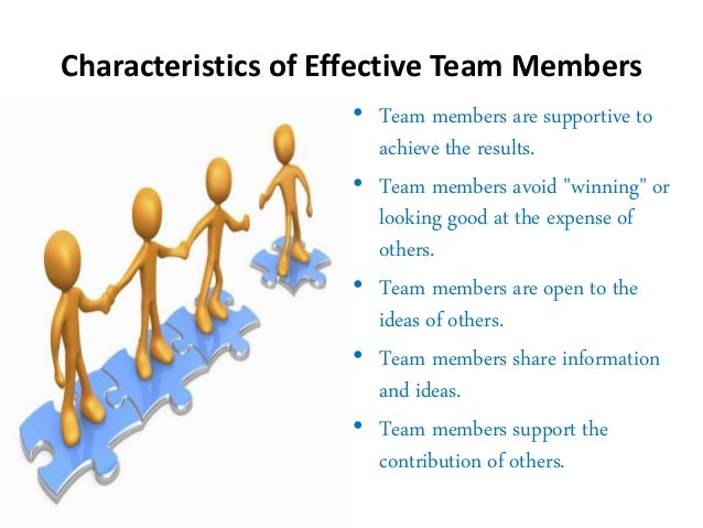 effective project team Teams work in an organization to improve quality, complete projects and change processes a team must have some components to ensure the success of the project.