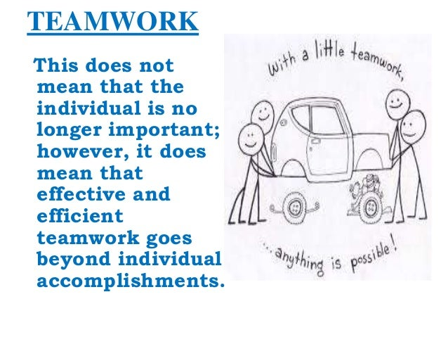 """a definition of team player and factors necessary to achieve effective teamwork 24 internal environment factors needed in team cohesion  483 how can a  team member resolve a conflict with the team leader  one definition of  cohesion is """"a group property with individual manifestations of  how best can  they serve the team to ensure they are successful  how teamwork works."""