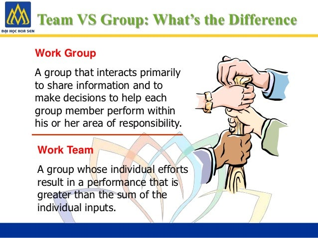 Difference between groups and teams essay