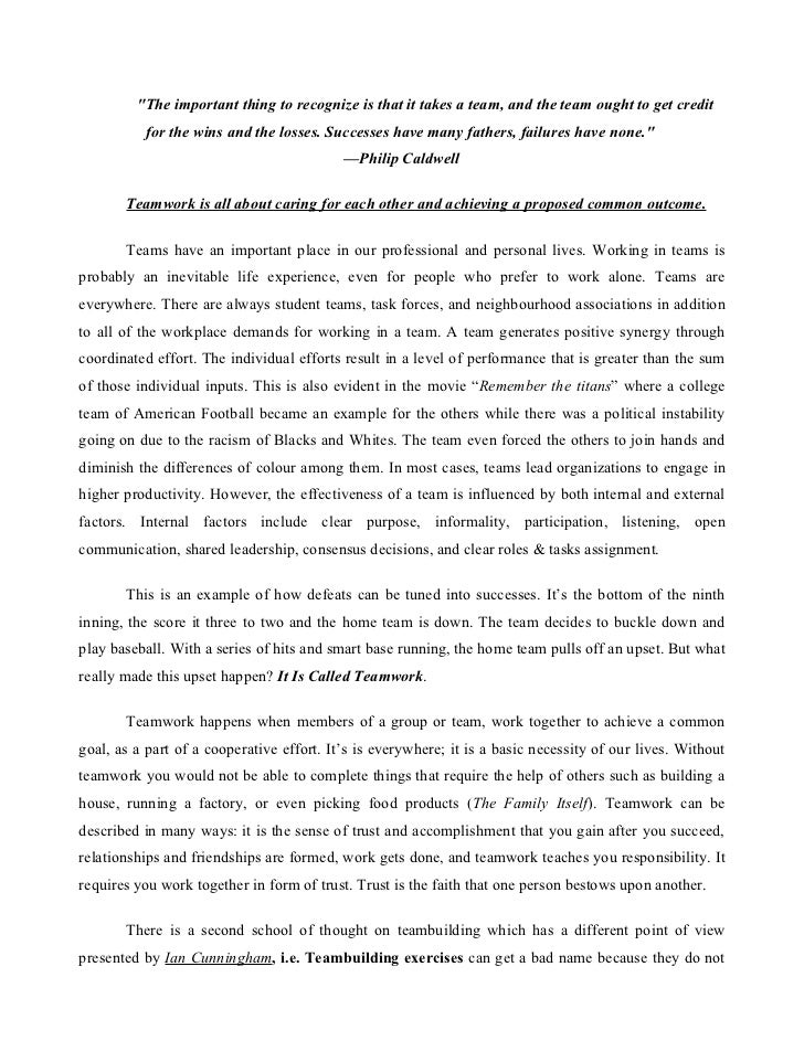 Valuable experience essay