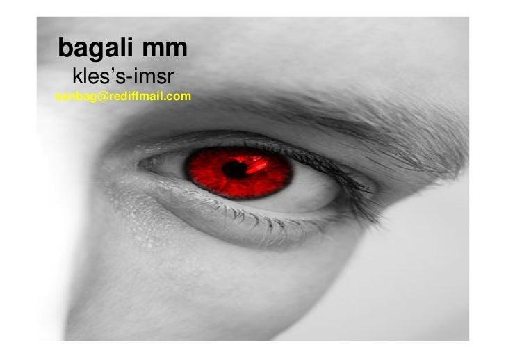 bagali mm  kles's-imsrsanbag@rediffmail.com