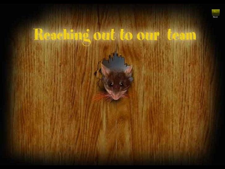 Teamwork Mouse Story