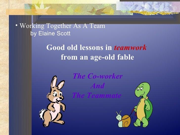 Team work opp