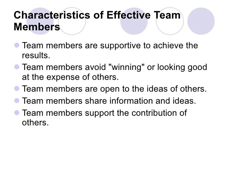 Short essay teamwork