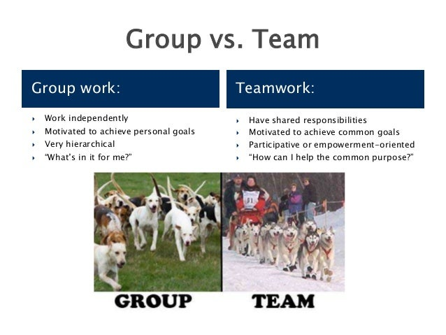 teamwork versus individual work essay Teamwork is often a crucial part of a business, as it is often necessary for colleagues to work well together, trying their best in any circumstance teamwork means that people will try to cooperate, using their individual skills and providing constructive feedback, despite any personal conflict between individuals.