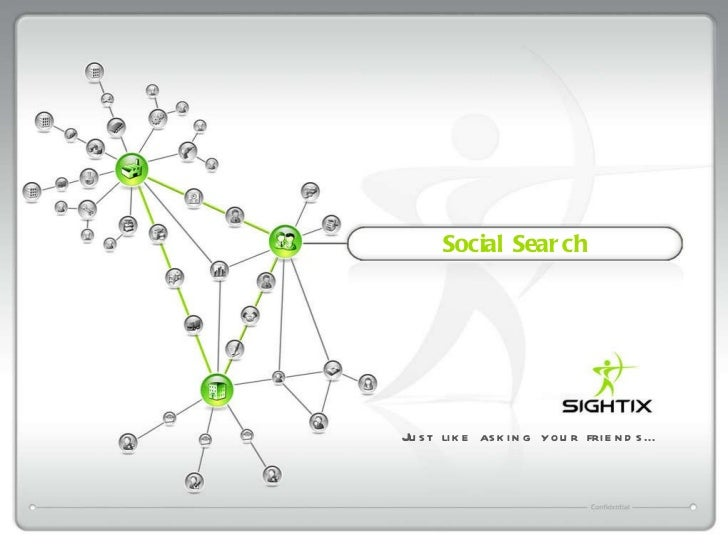 Social Search Just like asking your friends…