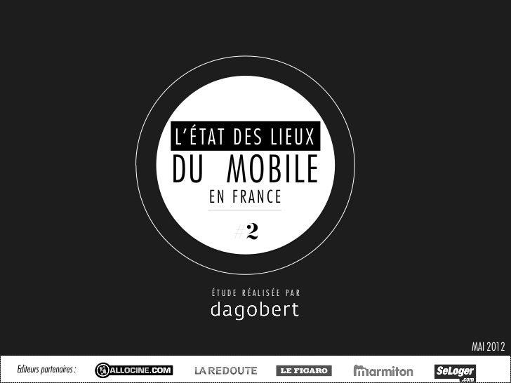 Etat des lieux du mobile en France - Mai 2012