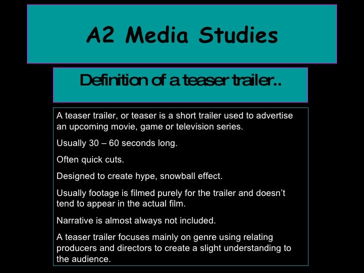 as media essay