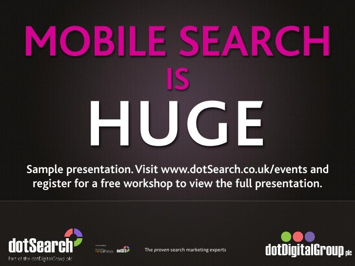 The proven search marketing experts