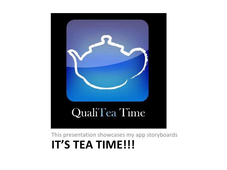 Tea storyboards