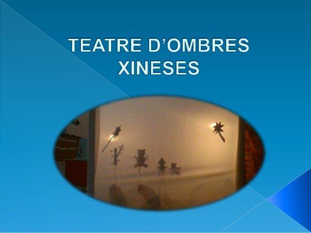 Teatre d'ombres xineses
