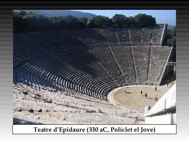 Teatre d'Epidaure (330 aC, Políclet el Jove)