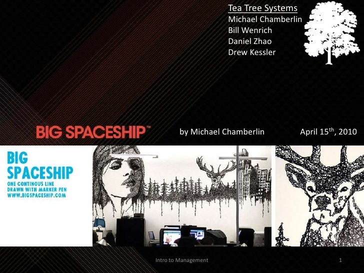 Big Space Ship (HBR Case study)