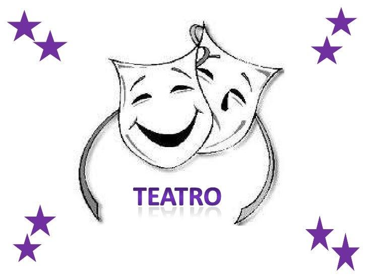 El teatro es la rama del arte escénico relacionada con la actuación,que representa historias frente a una audiencia usando...