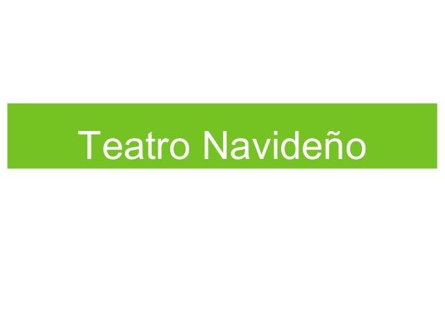 Teatro Navideño