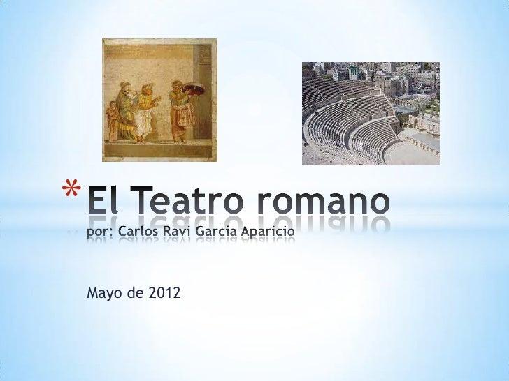 *    Mayo de 2012