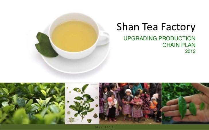 Ancient Tea Region & the Upgrading plan