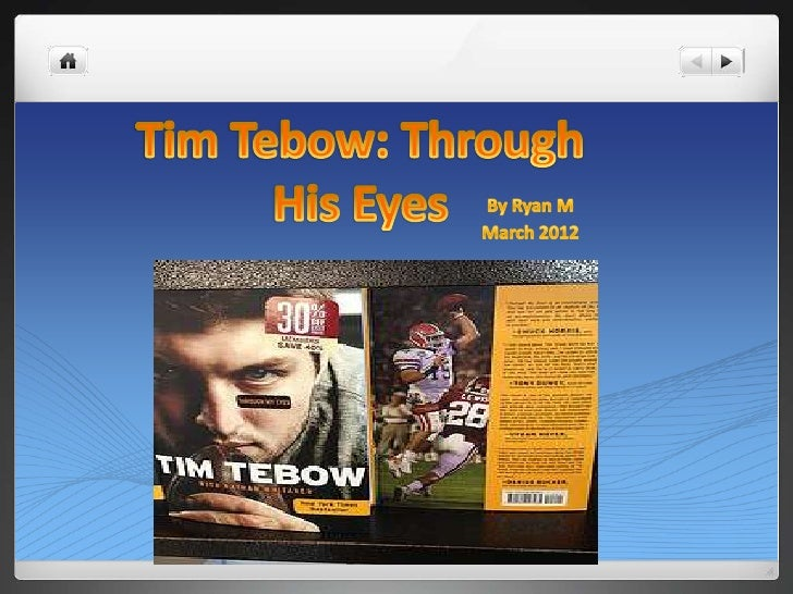    Tim Tebow was the youngest of 5 children to his parents Bob    and Pam Tebow. His mother was pregnant in the Philippin...