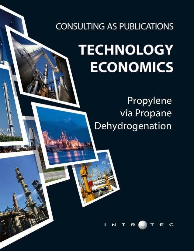 Technology Economics: Propylene via Propane Dehydrogenation