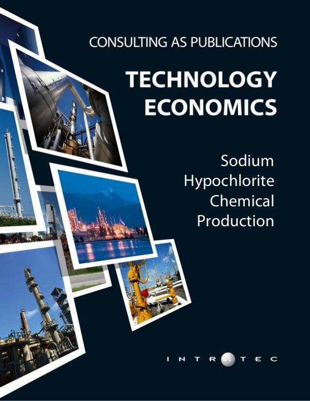 Sodium Hypochlorite Chemical Production