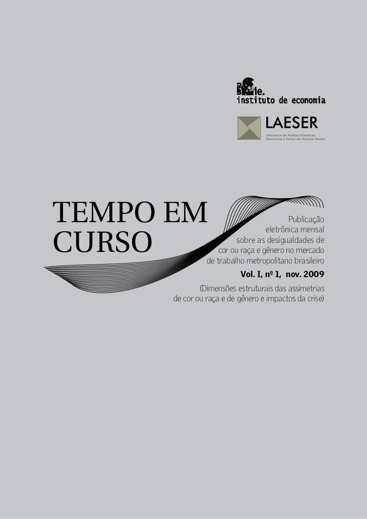 TEMPO EM                                 Publicação                                  eletrônica mensalCURSO               ...
