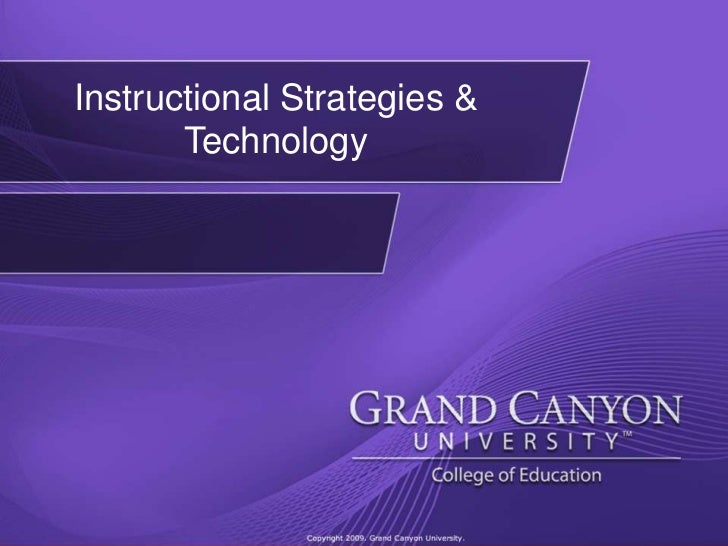 Instructional Strategies & Technology<br />