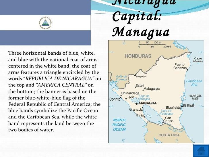 Nicaragua Capitals Name Nicaragua Capital
