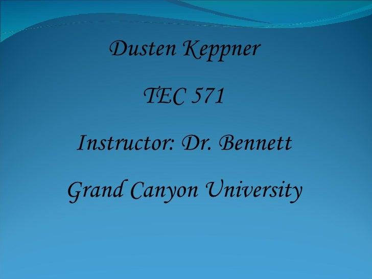 Tec 571 e portfolio final presentation