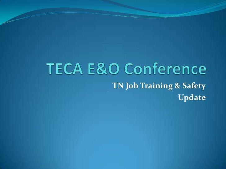 TN Job Training & Safety                 Update