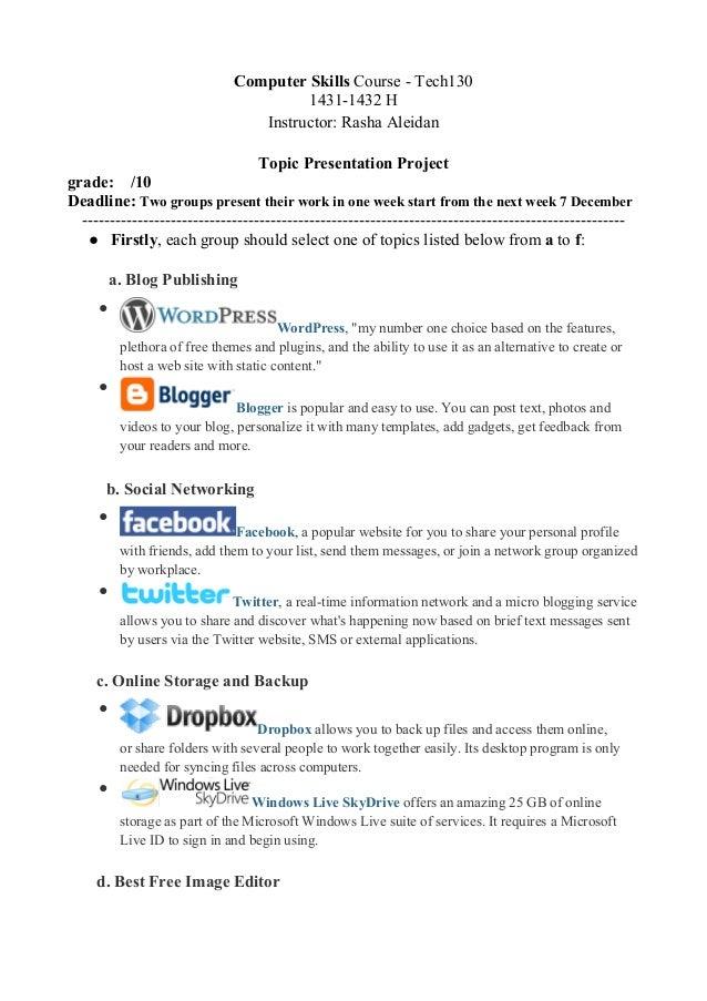 Tech130presentationproject