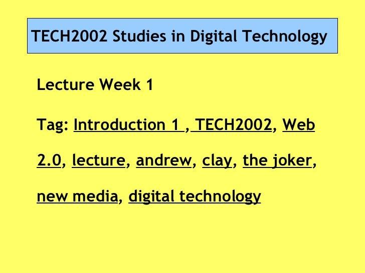 Tech2002lecweekone0809