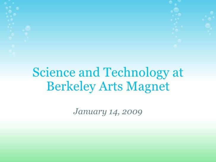 Tech At Bam Jan 14