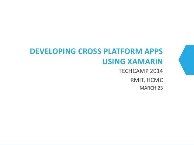 Techcamp xamarin 2014