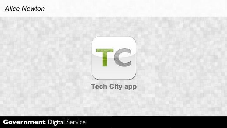 Tech City App