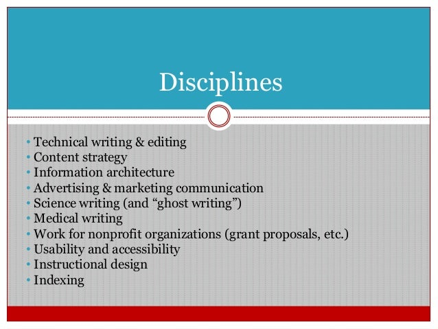 Careers in writing and editing