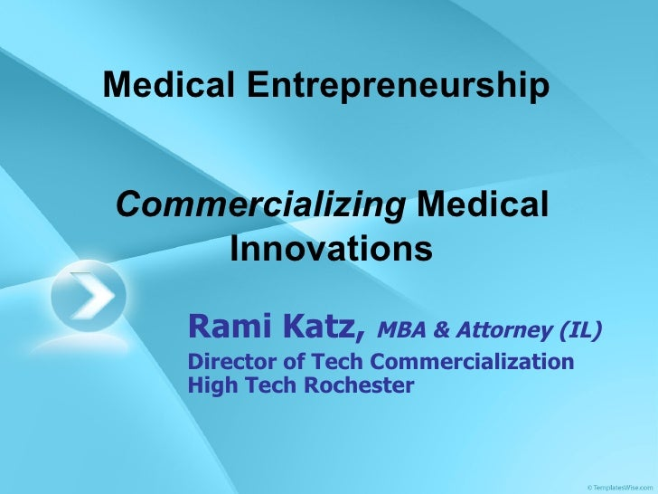 Tech Comm- Medical Innovations