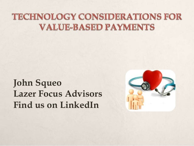 John Squeo Lazer Focus Advisors Find us on LinkedIn
