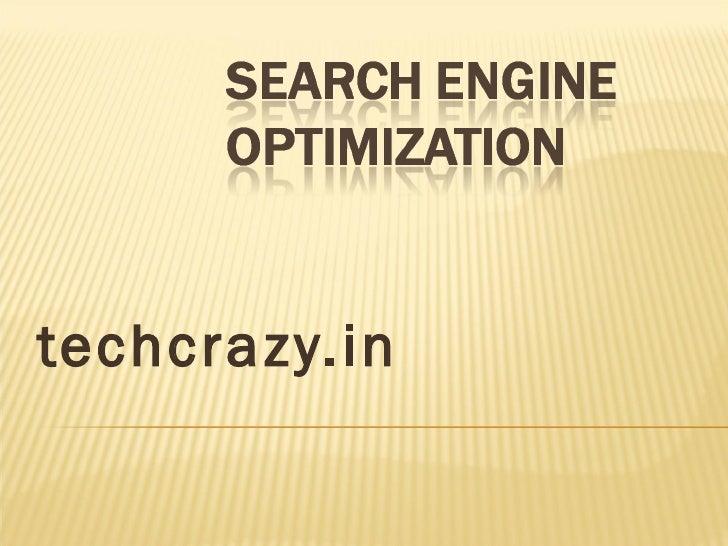 SEO Company | Techcrazy.in