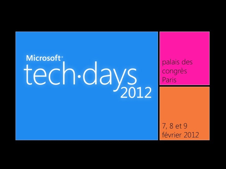 Trois avancées majeures en CSS3 : Mediaqueries, Grid Layout et Animations (MStechdays 2012)