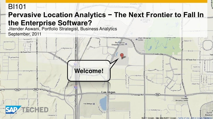 Pervasive Location Analytics − The Next Frontier to Fall In the Enterprise Software?
