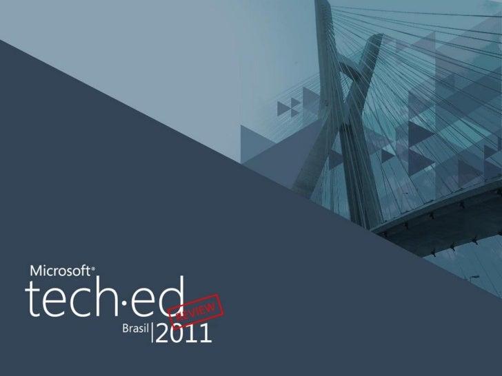 TechEd Brasil 2011 Review - Evolução da linguagem de programação C#