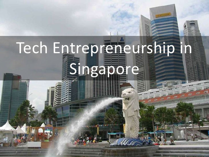 Technology Startups in Singapore