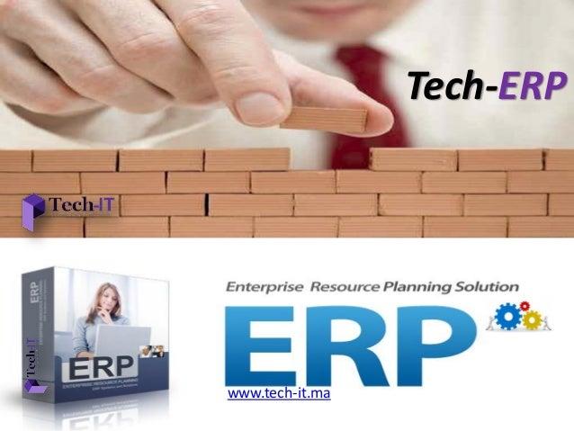 Tech-ERP www.tech-it.ma