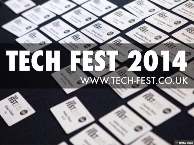 Tech Fest 2014