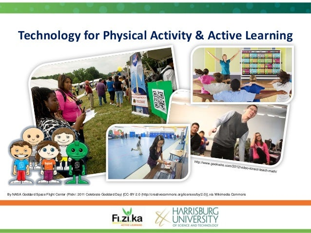 Technology for Physical Activity & Active Learning  By NASA Goddard Space Flight Center (Flickr: 2011 Celebrate Goddard Da...