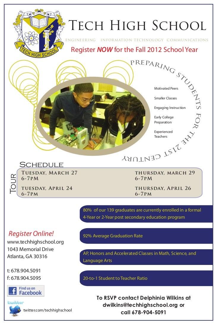 Tech High School                             engineering    information technology communications                         ...