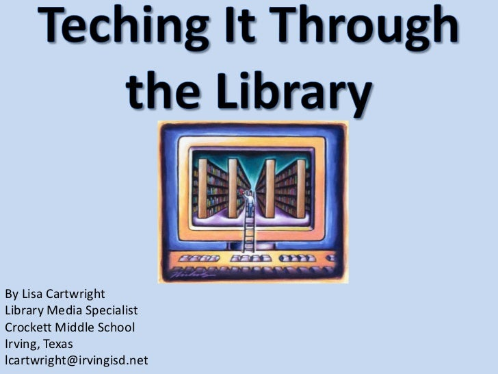 Teching it through_the_library