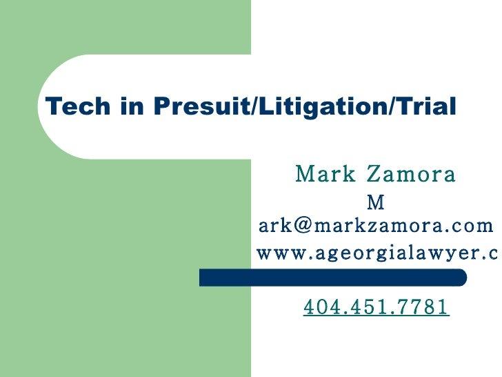 Tech in litigationfinalmarch18